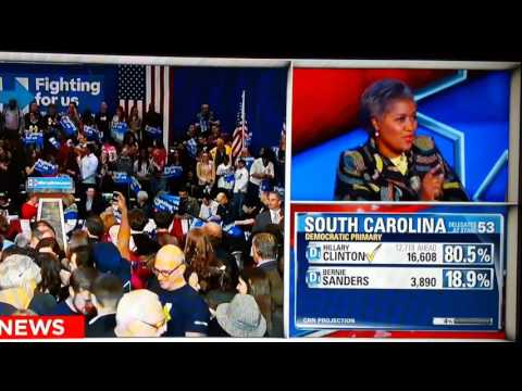 "Donna Brazile says she ""earned her"" superdelegate vote on CNN SC Primary Coverage"