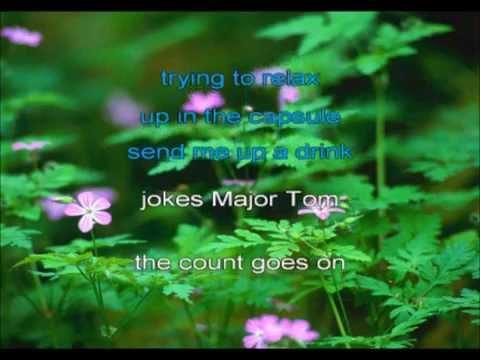 Major Tom for Karaoke