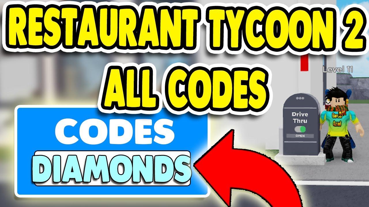 roblox restaurant tycoon codes