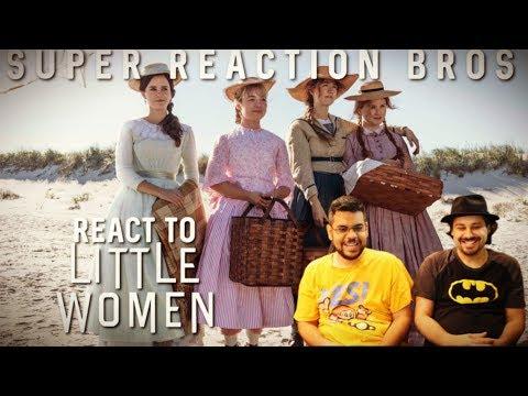 SRB Reacts to LITTLE WOMEN Official Trailer