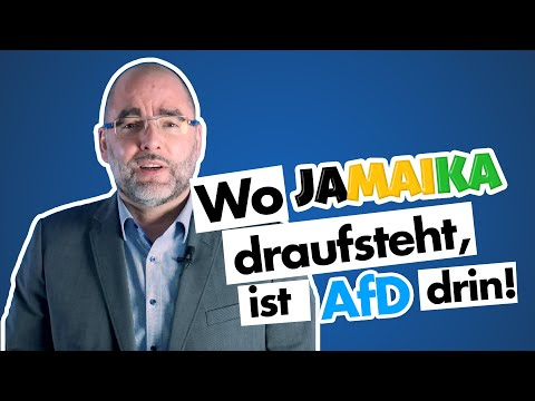Claus Schaffer (AfD): Wo Jamaika draufsteht, ist AfD drin!
