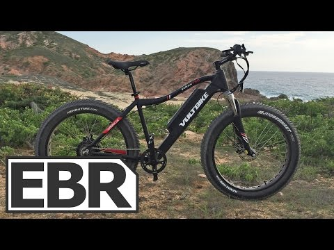 Voltbike Yukon 750 Video Review - Powerful Beach Capable Fat Ebike