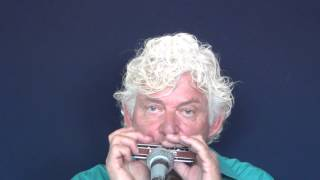 Tims Tiny Tunes #212: Funk, Level 4, harmonica play-along lessons | jazz harmonica licks