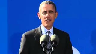 Obama addresses gun control and economy in California