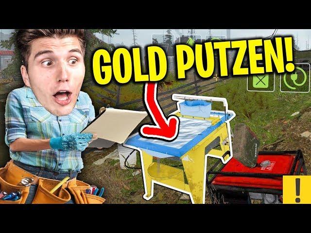 Die Gold-Waschmaschine! | Goldgräber Simulator