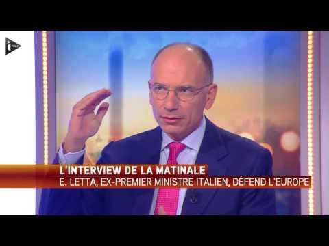 """Enrico Letta :""""Ces grandes migrations sont la conséquence des guerres que l'occident a fait"""""""