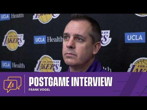 Lakers Postgame: Frank Vogel (4/15/21)