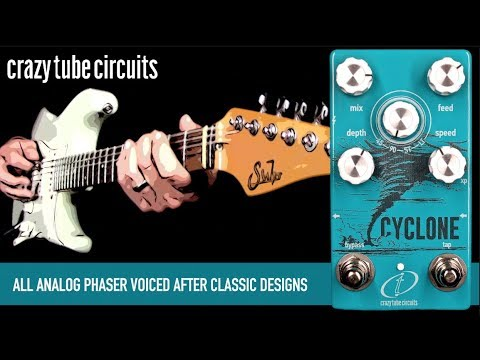 Crazy Tube Circuits' new Cyclone whips up a storm of classic phaser tones | Guitarworld