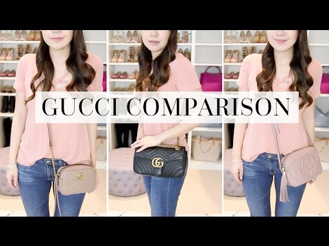 GUCCI SOHO DISCO vs MARMONT CAMERA BAG COMPARISON