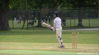 Английская школа. Игра в крикет