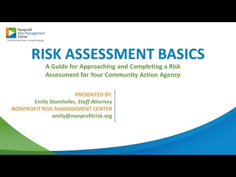 Process for Initiating and Conducting an Agency wide Risk Assessment