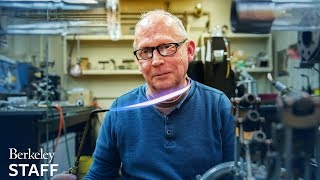 Portrait of a scientific glassblower