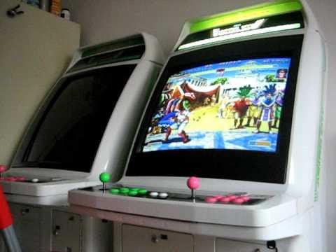 GGPO - Super Turbo on an Astro City Arcade Cab - YouTube