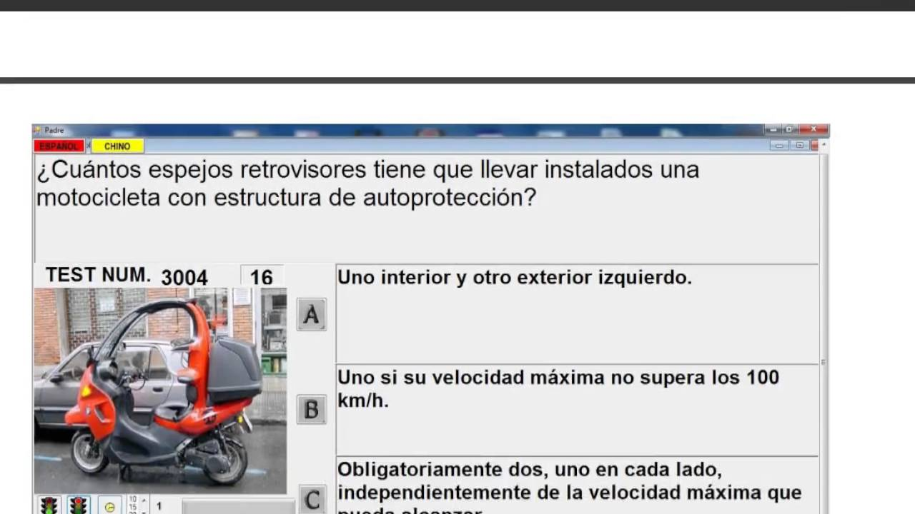 driving test in spanish