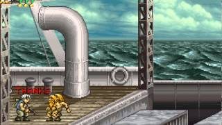 Metal Slug 4 Walkthrough/Gameplay Neo Geo