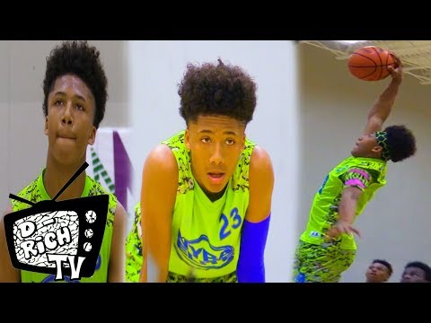 7th Grader Mikey Williams DOMINATES In Indy! - 2018 NYBL