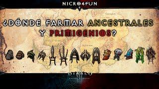 Donde farmear ancestrales y primigenios - Diablo 3