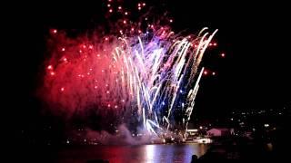 Queenstown Winterfest Fireworks