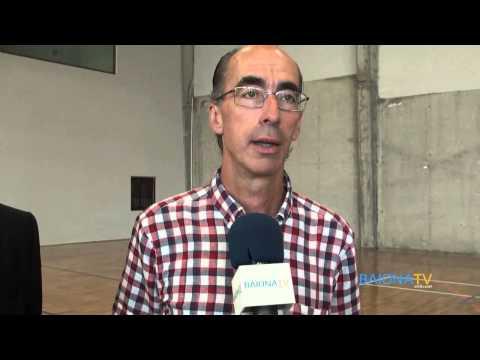 BAIONATV - Visita al Renovado Pabellón Municipal de Deportes de Baiona