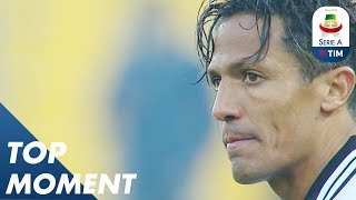 Bruno Alves Scores Outrageous Free Kick! | Parma 1-1 Chievo | Top Moment