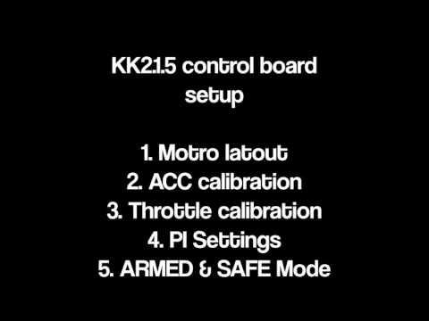 HobbyKing KK2 1 5 Setup - YouTube