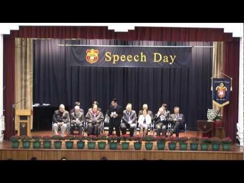 Speech Day 2011-2012