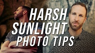 How to Take Portraits in Harsh Sunlight | 5 Quick Tips