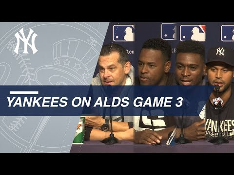 Yankees preview Game 3 of ALDS