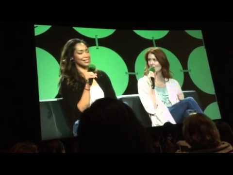 Firefly with Gina Torres and Jewel Staite Panel: Emerald Ci