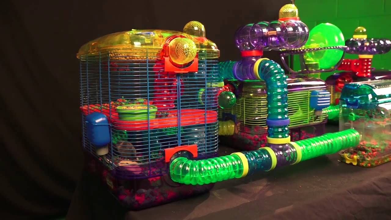 gerbil cage kaytee crittertrail village for gerbils mice or
