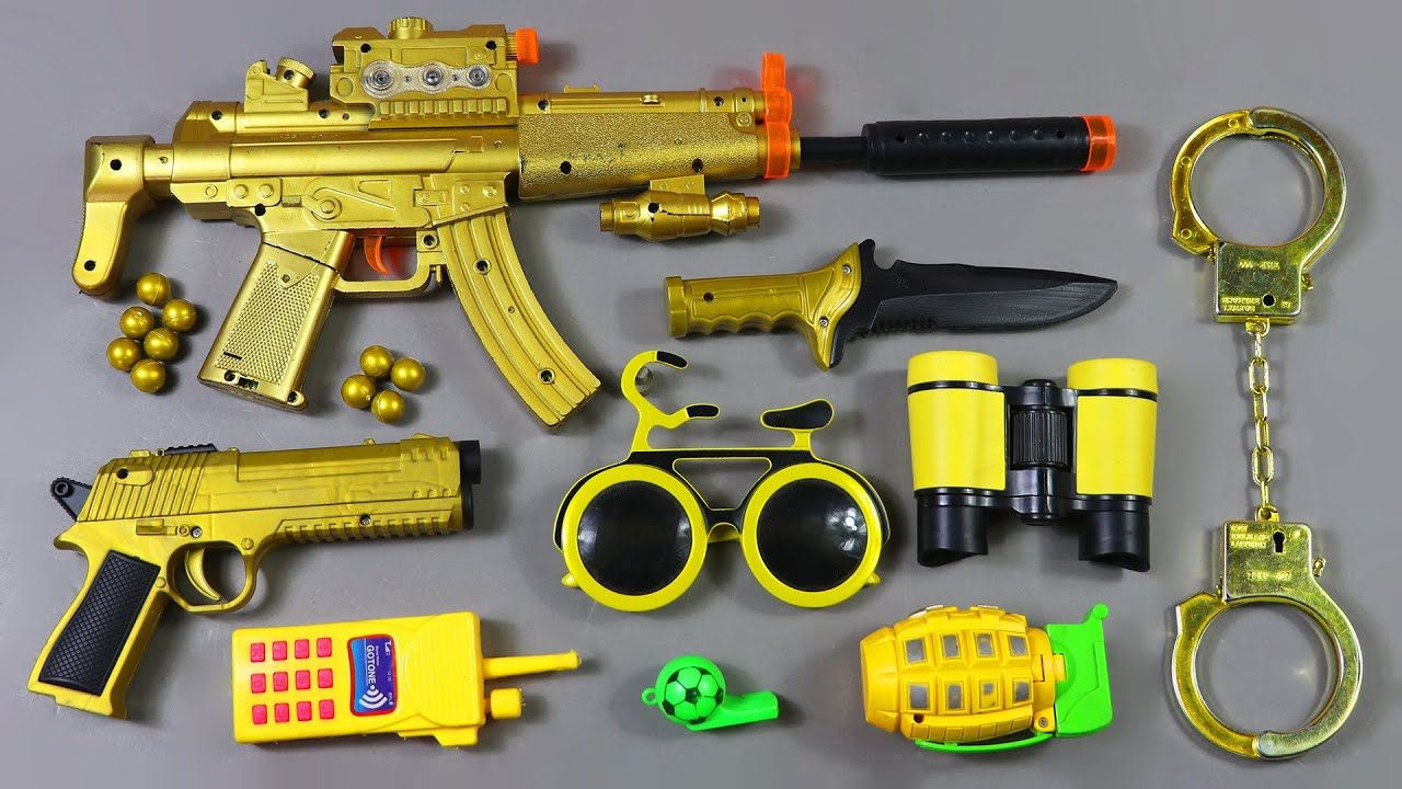 Free Fire Mobile Mp5 Smg Gun In Toys Desert Eagle Pistol Military Equipment Youtube