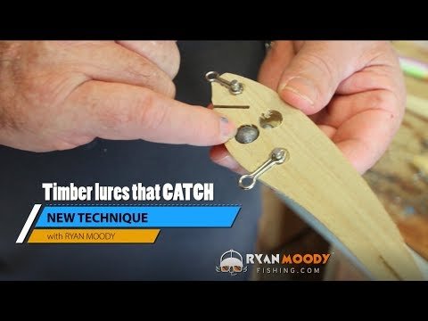 Making Timber Lures That Catch Big Fish - New Technique