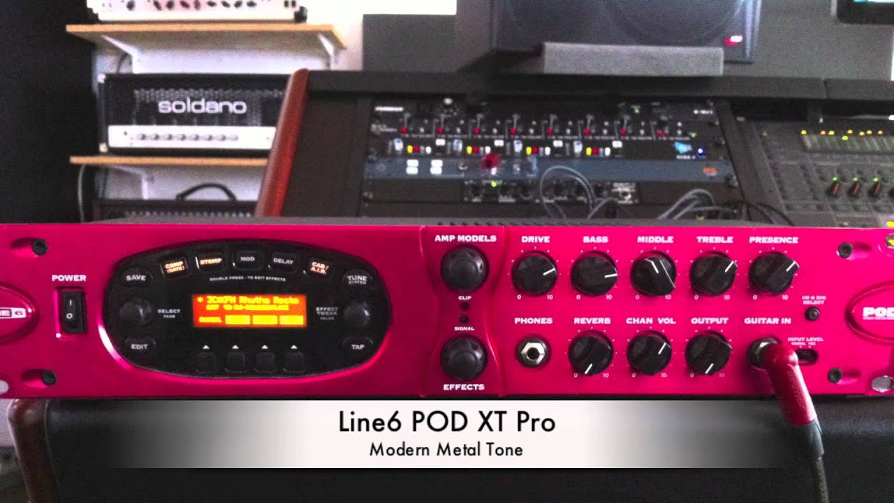 line 6 pod pro xt high gain recording youtube. Black Bedroom Furniture Sets. Home Design Ideas