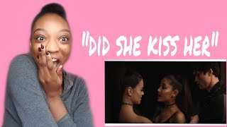 "Reacting to Ariana Grande ""Break up with your girlfriend, I'm bored"" music video"