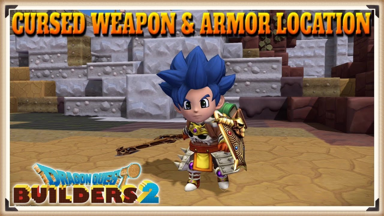 Dragon Quest Builders 2 Cursed Weapon Armor Location Guide How