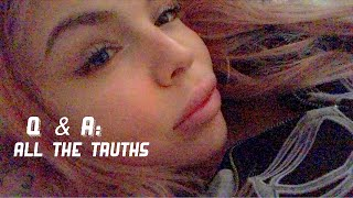 ASMR Most Honest Q&A - Do I have other work done/want more? Regret my lip fillers? Whats my diet?
