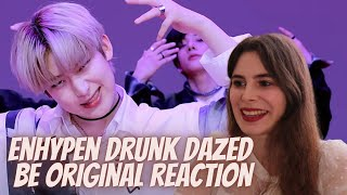 [BE ORIGINAL] ENHYPEN (엔하이픈) 'Drunk-Dazed' REACTION | Or Sunoo and Jake trying to Bias Wreck me