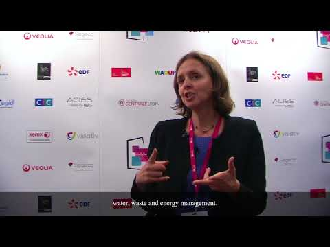 VEOLIA  - Interview de Yolande Azzout - Directrice Innovation et Transformation
