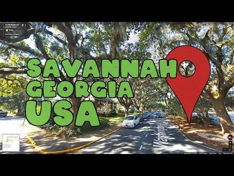Come Along On A Virtual Tour Of Savannah Georgia!