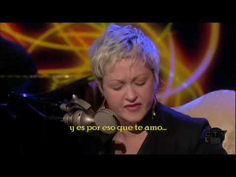 Cindy Lauper  True Colors  Acustico   Subtitulado en Español