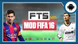FTS 2016 - Mod FIFA 16 - Android gameplay - Download (PT-BR)