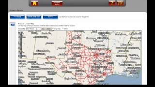 Selecting Origin/Destination when Starting/Stopping on a Non-State Maintained Road - TxPROS