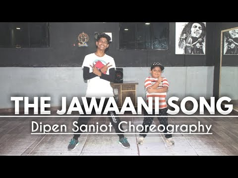 The Jawaani Song - Student Of The Year 2 | Tiger Shroff | Easy Dance | Dipen Sanjot Ft. Krish
