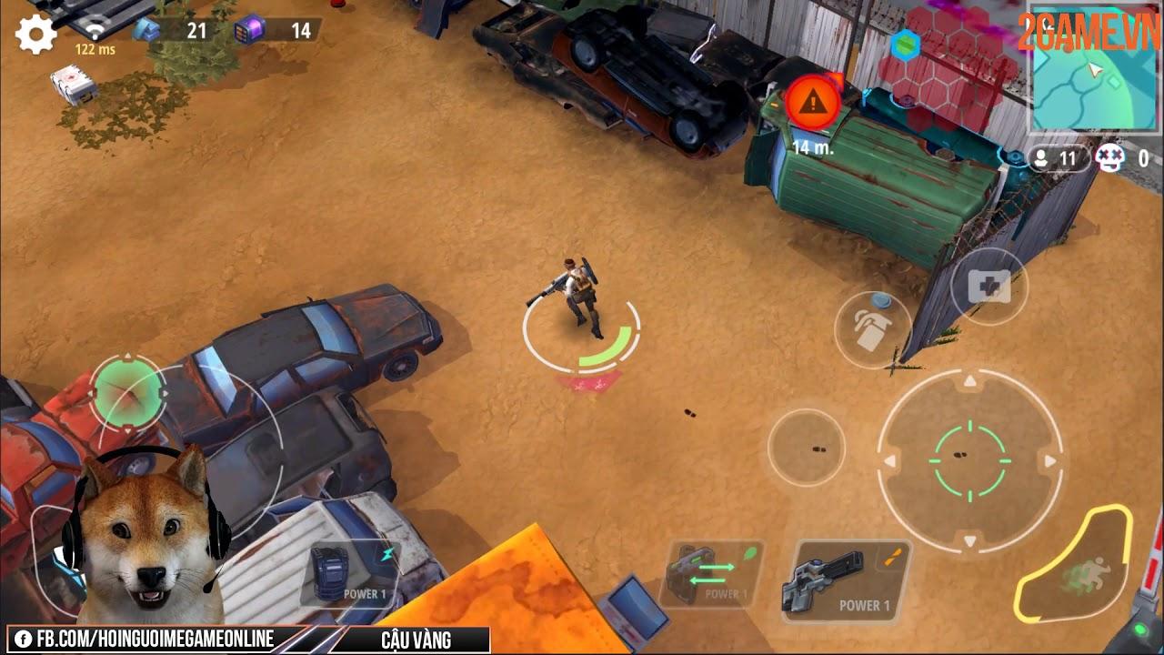 Trải nghiệm King Hardcore – Game bắn súng Battle Royale 2D vô cùng năng động