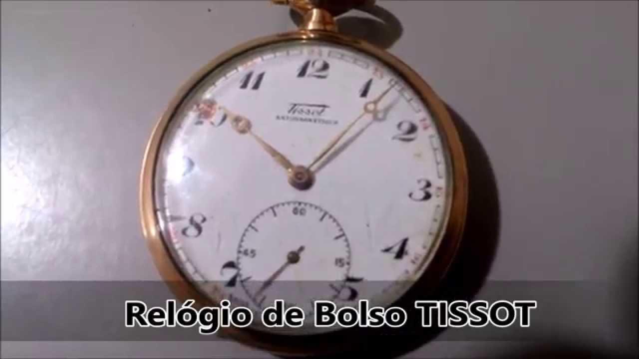 5f6b036e692 Relógio de Bolso TISSOT - YouTube