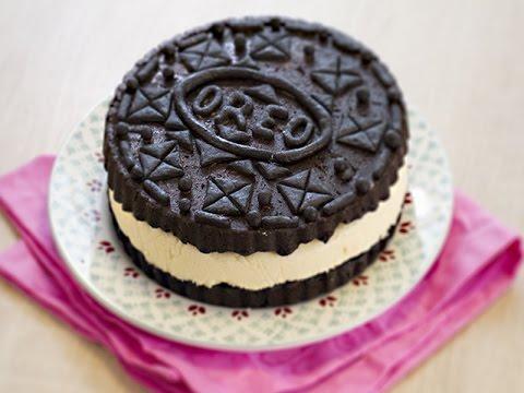 oréo-géant-gâteau-chocolat-vanille-maison