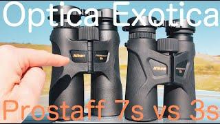 Nikon Prostaff 3S vs Prostaff …