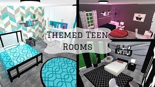 THEMED ROOMS | TEENS | Bloxburg | Roblox | Mamabear
