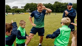 Connacht Rugby squad visit to Ballina RFC