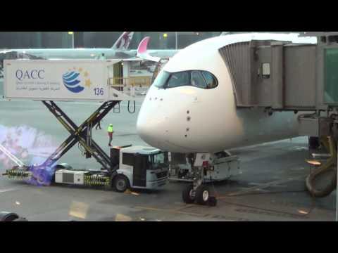 17 04 17 Airbus A 350 941 64 A7 AMB Doha Dubai LATAM Qatar Airways